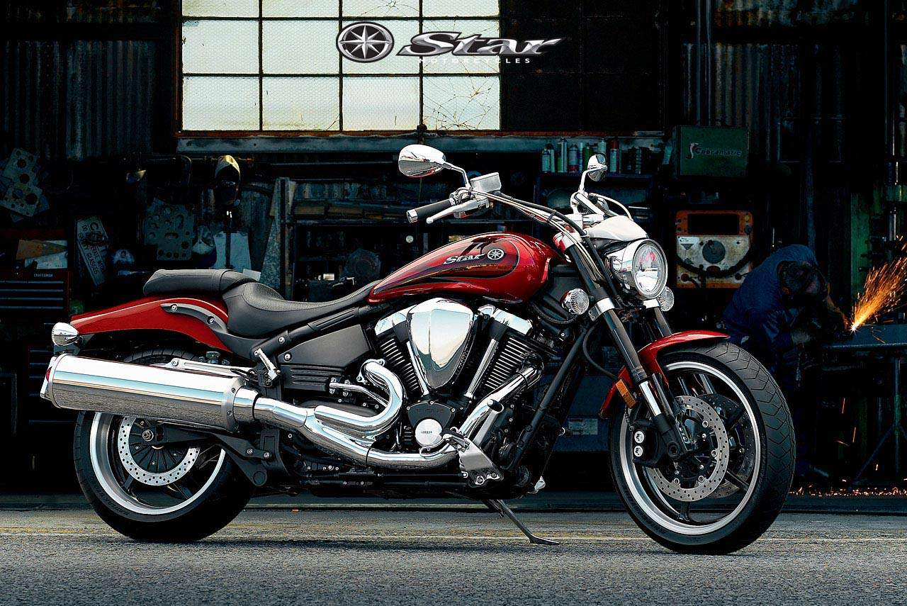 Мотоцикл Yamaha XV 1700 Road Star 2006