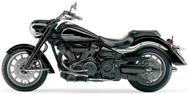 Мотоцикл Yamaha XV 1900 Roadliner Midnight 2006