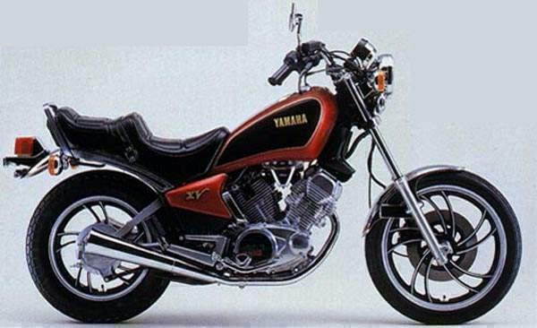 Мотоцикл Yamaha Xv 400 Special 1983 Описание Фото