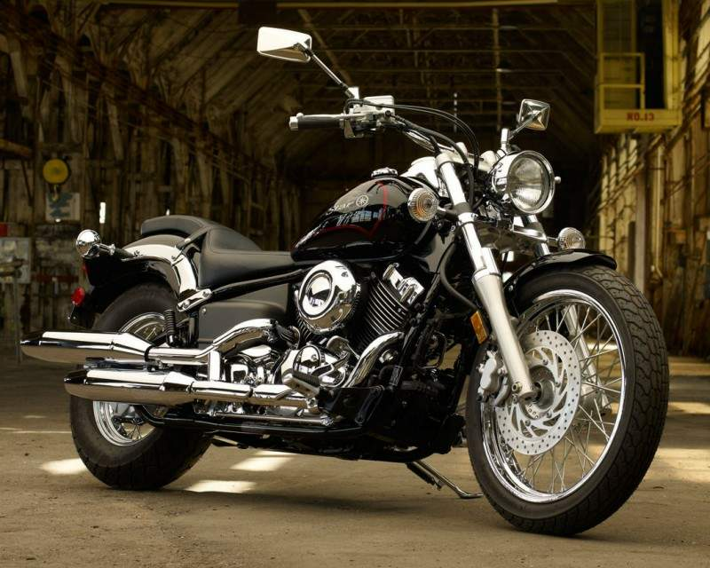 Мотоцикл Yamaha XVS 650 V -Star Custom 2010