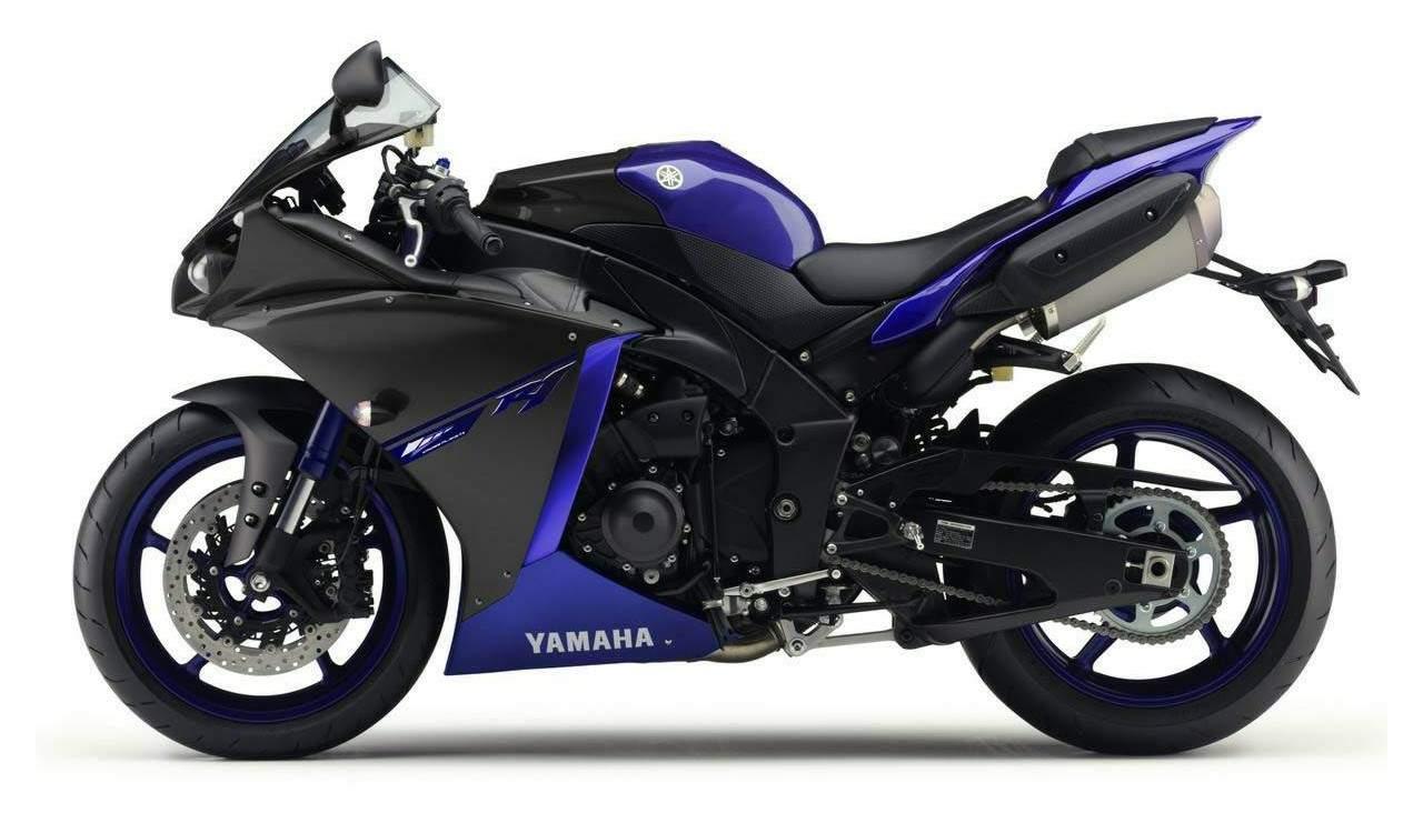 Мотоцикл Yamaha YZF 1000 R1 Race-Blu Special Edition 2014 Описание ...