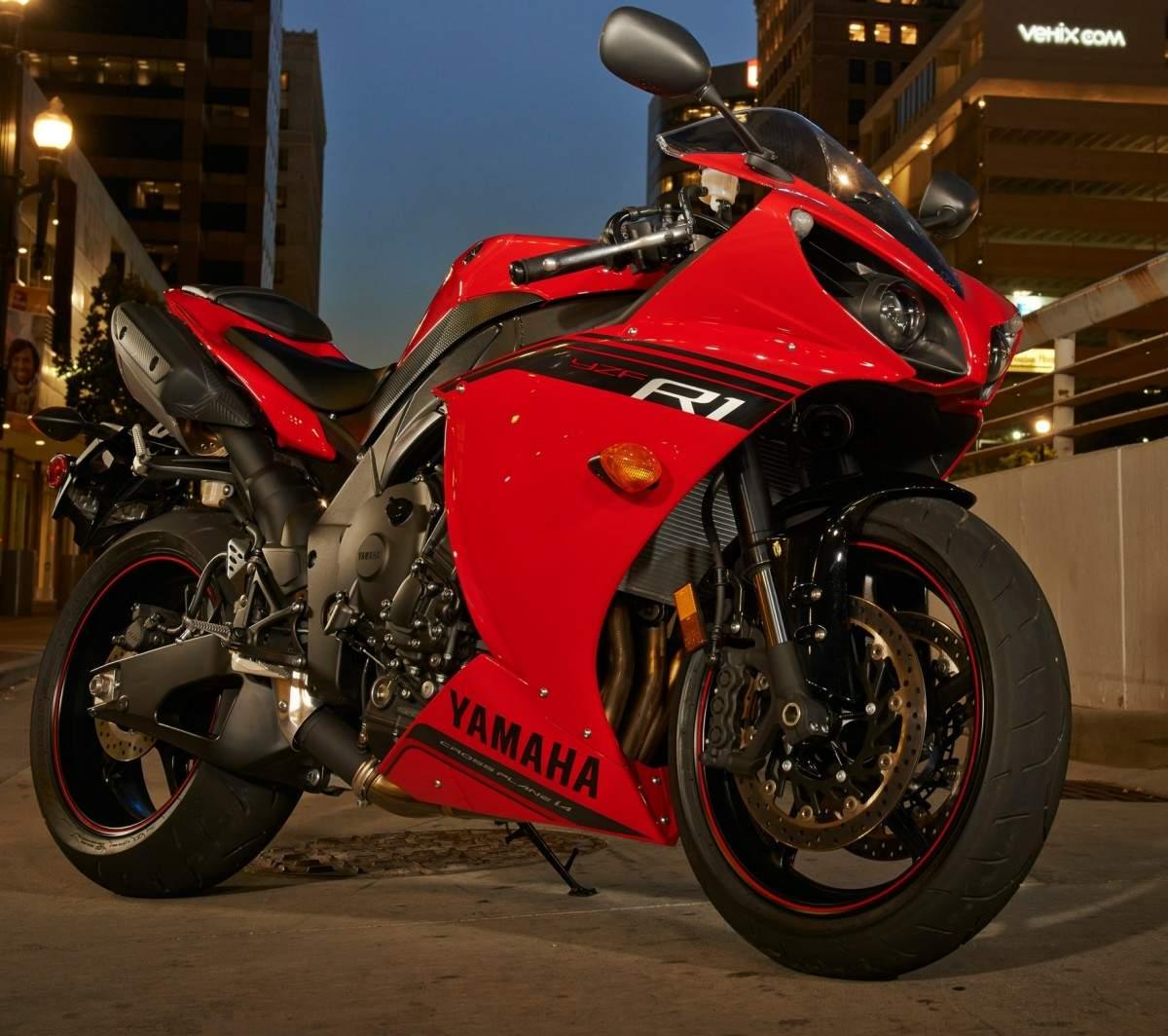 фото мотоцикла ямаха р1 #7