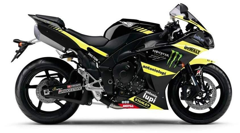 Мотоцикл Yamaha YZF 1000R1 Monster Tech3 Replica 2011